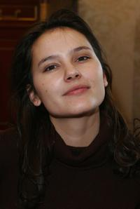 Virginie Ledoyen at the gift lounge