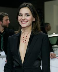 Virginie Ledoyen at the European Film Awards.