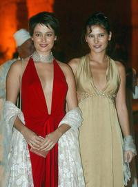 Virginie Ledoyen and Marie Julien at the Marrakech Film Festival.