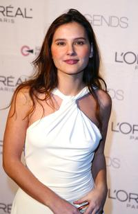 Virginie Ledoyen at the Legends Gala for Ovarian Cancer Research Fund.