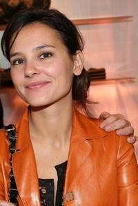Virginie Ledoyen at the opening of