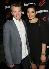 Tate Donovan and wife Corinne Kingsbury at the Entertainment Weekly and Vavoom's Network Upfront party.