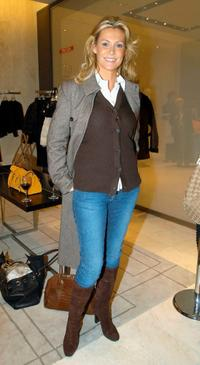 Alison Doody at the opening of UK Fashion Designer Stella McCartney's new store