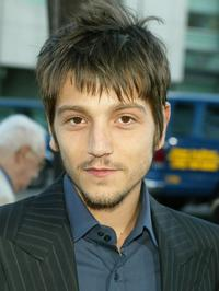 Diego Luna at the Los Angeles premiere of