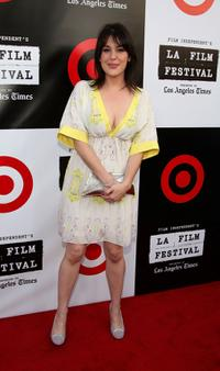 Melanie Lynskey at the Los Angeles Film Festival 2007 Spirit Of Independence Award Ceremony.
