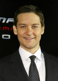 Tobey Maguire at the Tokyo premiere of