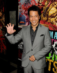 Byron Mann at the California premiere of