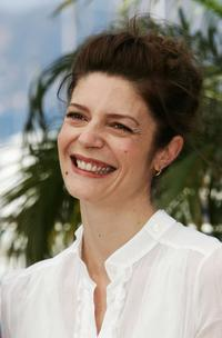 Chiara Mastroianni at the photocall to promote