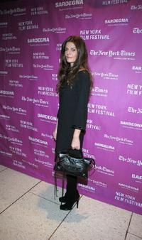 Chiara Mastroianni at the premiere of