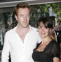 Damian Lewis and Helen McCrory at the European premiere of