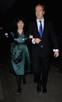 Helen McCrory and Damian Lewis at the Alexandra Shulman's Pre-BAFTA Dinner.