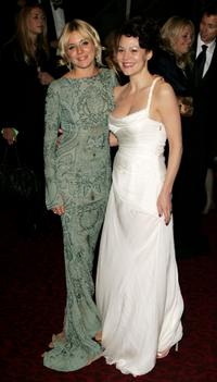 Sienna Miller and Helen McCrory at the Orange British Academy Film Awards.