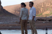 Emily Blunt as Harriet Chetwode-Talbot and Ewan McGregor as Fred Jones in ``Salmon Fishing in the Yemen.''