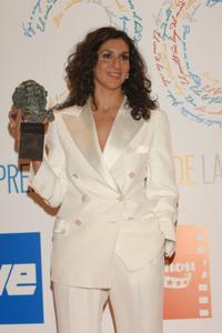 Elvira Minguez at the Goya Cinema Awards.