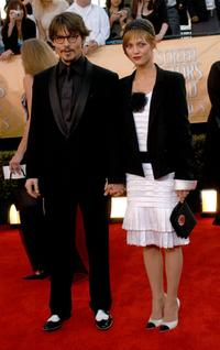Johnny Depp and Vanessa Paradis at the 11th Annual Screen Actors Guild Awards.