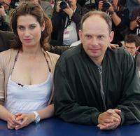 Emmanuelle Devos and Denis Podalydes at the photocall of