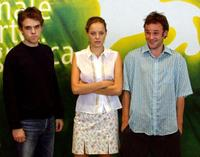 Nick Stahl, Bijou Phillips and Brad Renfro at the photocall of