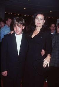 Brad Renfro and Minnie Driver at the premiere of