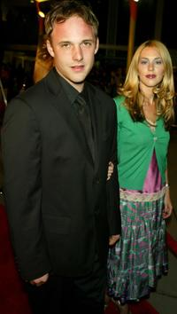 Brad Renfro and guest at the Warner Independent's premiere of