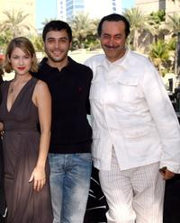 Laura Ramsey, Assad Bouab and Hichem Rostom at the photocall of