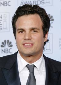 Mark Ruffalo at the 61st Annual Golden Globe Awards.