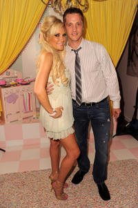 Bridget Marquardt and Devon Sawa at the Bridget & Pascal Mouawad watch launch in California.