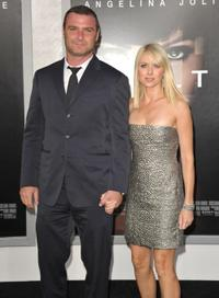 Liev Schreiber and Naomi Watts at the California premiere of