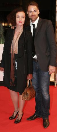 Maria Schrader and Sebastian Blomberg at the premiere of