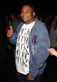 Kenan Thompson at the Custo Barcelona Spring 2010 Fashion.