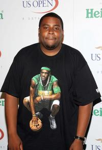 Kenan Thompson at the U.S. Open Player Party.