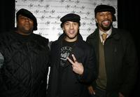 Kenan Thompson, Jeremy Piven and Common at the launch of