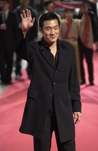 Tony Leung at the 40th Golden Horse Film Award in Tainan, Taiwan.