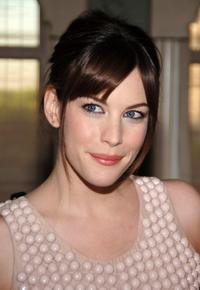 Liv Tyler at the cocktail party for Stella McCartney.