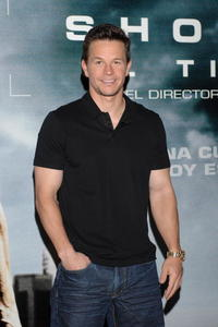 Mark Wahlberg at a photocall in Madrid for