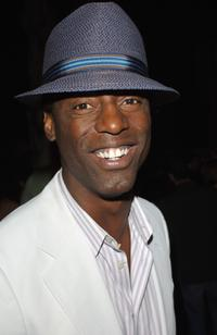 Isaiah Washington at the Entertainment Weekly Emmy Pre-Party.