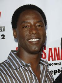 Isaiah Washington at the