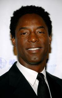 Isaiah Washington at the King of Hearts gala.