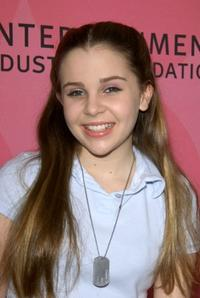 Mae Whitman at the Entertainment Industry Foundation charity.