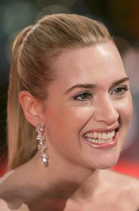 Kate Winslet at The Orange British Academy Film Awards.