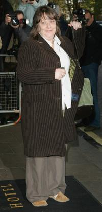 Kathy Burke at the Evening Standard Theatre Awards.