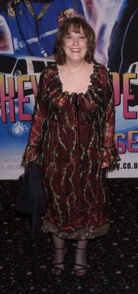 Kathy Burke at the UK premiere of