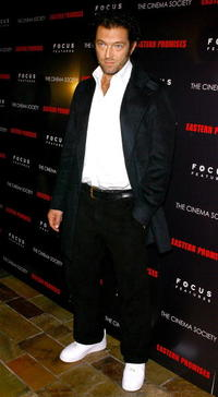 Vincent Cassel at the screening of