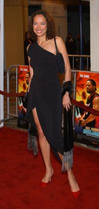 Carmen Chaplin at the premiere of