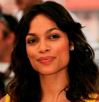 Rosario Dawson at the photocall to promote