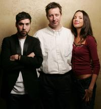 Leo Fitzpatrick, Director Hal Hartley and Tatiana Abracos at the 2005 Sundance Film Festival.