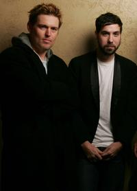 Bill Sage and Leo Fitzpatrick at the 2005 Sundance Film Festival.