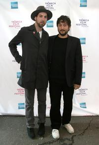 Leo Fitzpatrick and Director Harmony Korine at the premiere of