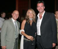 Chris Albrecht, Guest and Ray Stevenson at the after party of the premiere of