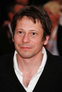 Mathieu Amalric at the premiere of