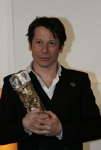 Mathieu Amalric at the 30th Nuit des Cesar, France's top movie awards.